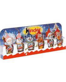 Produktabbildung: Ferrero Kinder Schokolade Weihnachtsfigur 90 g