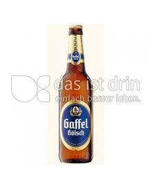 Produktabbildung: Gaffel Gaffel Kölsch 0,33 l