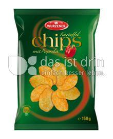 Produktabbildung: Wurzener Kartoffel Chips mit Paprika 150 g