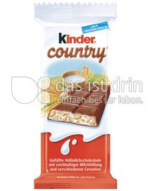 Produktabbildung: Ferrero Kinder Country 23,5 g