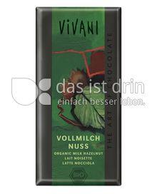 Produktabbildung: VIVANI Vollmilch Nuss 100 g
