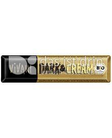 Produktabbildung: VIVANI Dark & Cream Schokoladenriegel 45 g