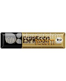 Produktabbildung: VIVANI Espresso Biscotti Schokoladenriegel 45 g