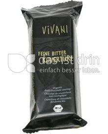 Produktabbildung: VIVANI Feine Bitter Kuvertüre 200 g
