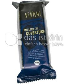 Produktabbildung: VIVANI Vollmilch Kuvertüre 200 g