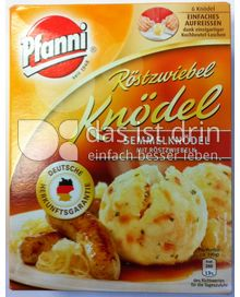 Produktabbildung: Pfanni Röstzwiebel Knödel 200 g