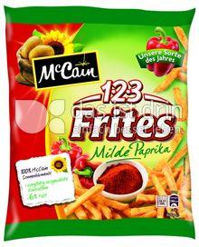 Produktabbildung: McCain 1.2.3 Frites Milde Paprika 600 g