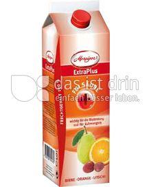 Produktabbildung: Merziger ExtraPlus Folsäure in Birne Orange Litschi 1 l