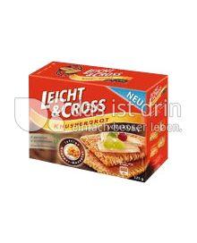 Produktabbildung: Leicht & Cross Knusperbrot Vollkorn 125 g