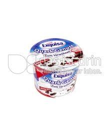 Produktabbildung: Exquisa QuarkGenuss Zum Verwöhnen Stracciatella 500 g