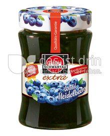 Produktabbildung: Schwartau extra Wald-Heidelbeere 340 g