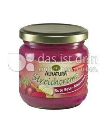 Produktabbildung: Alnatura Streichcreme Rote Bete-Meerrettich 180 g