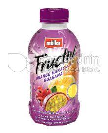 Produktabbildung: Müller Fructiv Orange Maracuja Guarana 440 ml