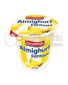 Produktabbildung: Ehrmann Almighurt Fantasie Ananas 150 g