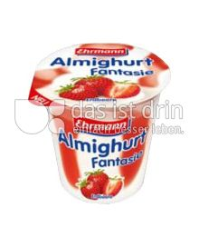 Produktabbildung: Ehrmann Almighurt Fantasie Erdbeere 150 g