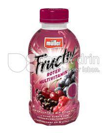 Produktabbildung: Müller Fructiv Roter Multivitamin 440 ml