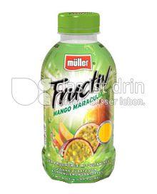 Produktabbildung: Müller Fructiv Mango Maracuja 440 ml