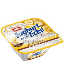 Produktabbildung: Müller Joghurt mit der Schlemmer Ecke® Typ Bananasplit 150 g