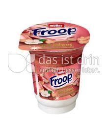 Produktabbildung: Müller Froop® des Jahres Rhabarber-Vanilla 150 g