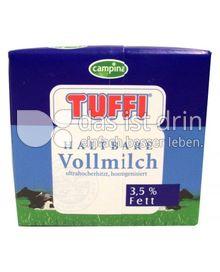 Produktabbildung: Tuffi Haltbare Vollmilch 0,5 l