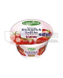 Produktabbildung: Tuffi Fettarme Dickmilch auf Frucht Erdbeere 200 g
