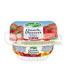 Produktabbildung: Tuffi Quark-Dessert Erdbeere 125 g