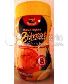 Produktabbildung: Captains Tea Teegetränk Zitrone 400 g