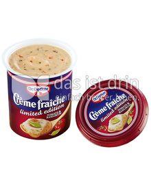 Produktabbildung: Dr. Oetker Crème Fraîche Tomate & Basilikum 125 g