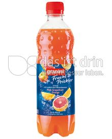 Produktabbildung: Granini Frucht Prickler Pink Grapefruit-Orange 0,5 l