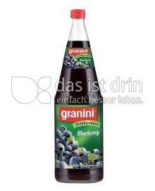 Produktabbildung: Granini Trinkgenuss Blueberry 1 l