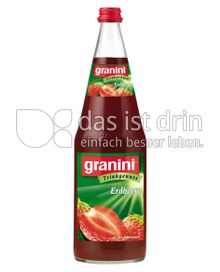 Produktabbildung: Granini Trinkgenuss Erdbeere 1 l