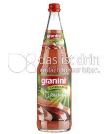 Produktabbildung: Granini Trinkgenuss Rhabarber 1 l
