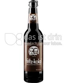 Produktabbildung: fritz-kola kola-kaffee-brause 0,33 l