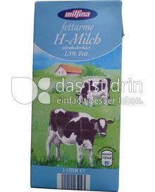 Produktabbildung: Milfina fettarme H-Milch 1 l