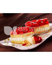Produktabbildung: bofrost* free Erdbeer-Sahne-Schnitten 900 g