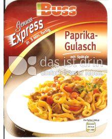 Produktabbildung: Buss Genuss Express Paprika-Gulasch 350 g