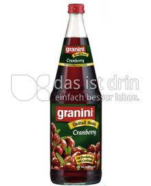 Produktabbildung: Granini Cocktail Basics Cranberry 1 l