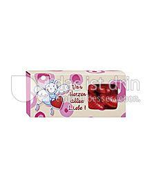 Produktabbildung: Riegelein Be Happy! Geschenk-Herzchen-Box 120 g