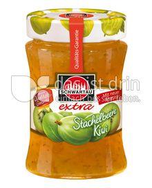 Produktabbildung: Schwartau extra Stachelbeere Kiwi 340 g