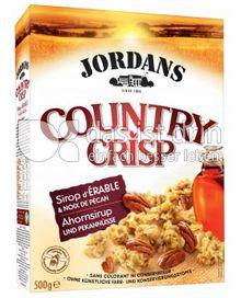 Produktabbildung: Jordans Country Crisp Ahornsirup & Pekannüsse 500 g