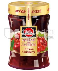 Produktabbildung: Schwartau extra des Jahres Kirsch-Cranberry 340 g