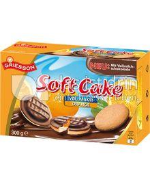 Produktabbildung: Griesson Soft Cake Vollmilch Orange 300 g