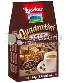 Produktabbildung: Loacker Quadratini Espresso 110 g