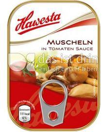 Produktabbildung: Hawesta Muscheln in Tomaten Sauce 110 g