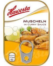 Produktabbildung: Hawesta Muscheln in Curry Sauce 110 g