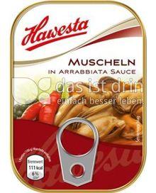 Produktabbildung: Hawesta Muscheln in Arrabbiata Sauce 110 g