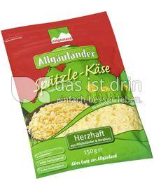 Produktabbildung: Allgäuland Allgäuländer Spätzle-Käse 150 g
