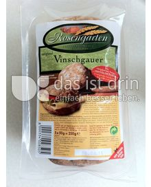 Produktabbildung: Rosengarten Vinschgauer Roggenmischfladenbrötchen 250 g
