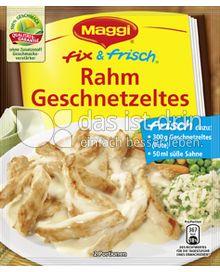 Produktabbildung: Maggi fix & frisch Rahm Geschnetzeltes 45 g