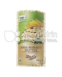 Produktabbildung: real,- BIO Hirse-Mais-Reis Waffeln 100 g